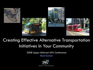 Creating Effective Alternative Transportation Initiatives in Your ...