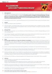 Allgemeine Geschäftsbedingungen Banner GmbH (0.2 Mb)