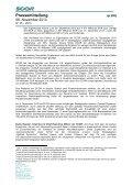 Pressemitteilung - Scor - Page 2