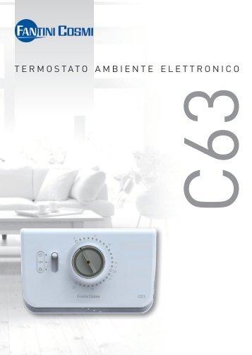 Scheda c60 fantini cosmi for Termostato fantini cosmi ch110 istruzioni