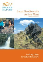 Local geodiversity action plans - Sustainable Aggregates