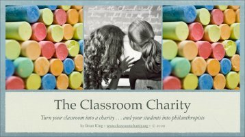 The Classroom Charity - isacs