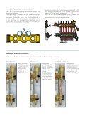 Vormontierte Verteiler für Fußbodenheizungsanlagen - Caleffi - Seite 5