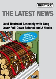 Load-Restraint Assembly with Long- Lever Pull-Down Ratchet ... - kwb