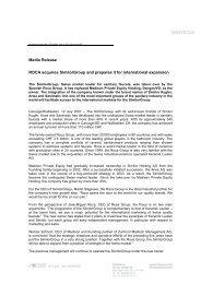 Press Release 1 E - Zurmont Madison
