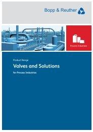 Product Range Process Industries - Bopp & Reuther Sicherheits ...