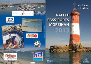 Plaquette Rallye Pass-Ports Morbihan 2013