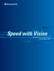 Annual Report 2003 (pdf 2.0MB) - Astellas Pharma Inc.