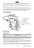 EUROLITE LED PAR-56 RGB Spot User Manual - Ljudia - Page 7