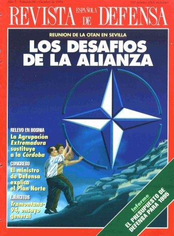 Nº 080 1994 Octubre - Portal de Cultura de Defensa - Ministerio de ...