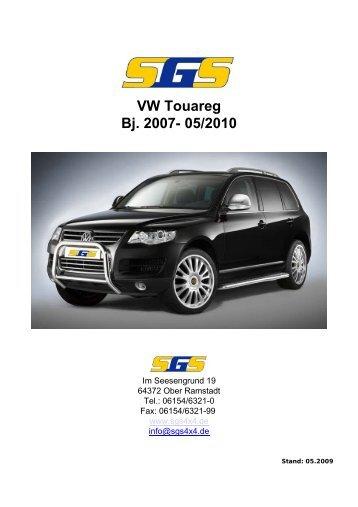 VW Touareg Bj. 2007- 05/2010 - SGS