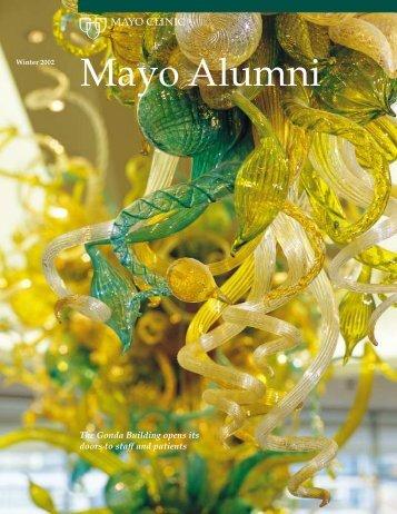 Mayo Alumni Magazine 2002 Winter - MC4409-0102 - Mayo Clinic