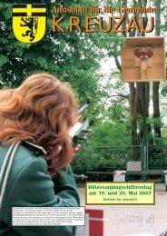 Amtsblatt Nr. 04/2007 vom 20.04.2007 - Gemeinde Kreuzau