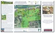 Native Lands County Park Brochure 10-09.pub - York County