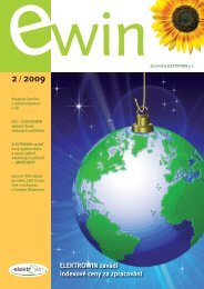 EWIN 2009/2 - ELEKTROWIN, as