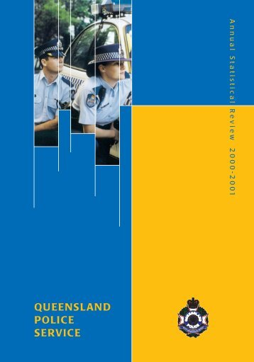 2000 - 2001 Annual Statistical Review - Queensland Police Service