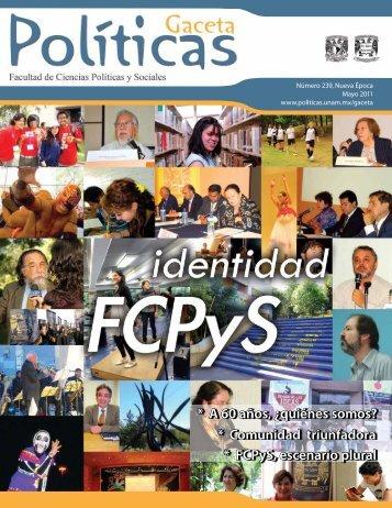 A 60 años - Facultad de Ciencias Políticas y Sociales - UNAM