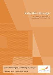 Avtalsförsäkringar - Svenskt Näringsliv