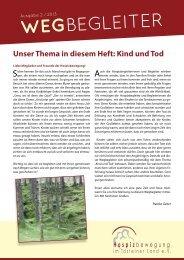 WEGBEGLEITER - Hospizbewegung im Idsteiner Land eV