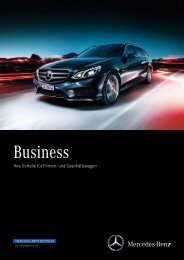 Business Mappe (PDF) - Mercedes-Benz Schweiz