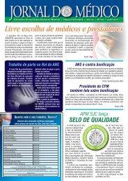 jornal/Jornal do Medico133.pdf - Associacao Paulista de Medicina ...