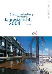 Jahresbericht 2004 - Schreibwerkstatt GmbH