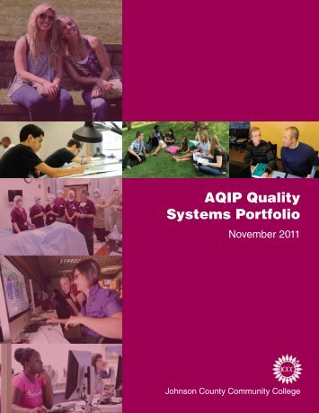 AQIP Quality Systems Portfolio - Johnson County Community College