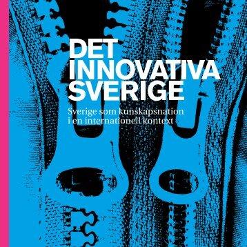 Sverige som kunskapsnation i en internationell kontext