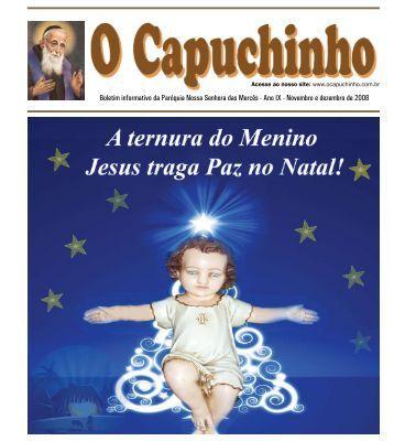 """Jornal """"O Capuchinho"""" - dezembro de 2008 - Paróquia Nossa ..."""