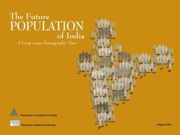 The Future Population of India - Population Reference Bureau