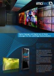 Digital Signage und Digital out of Home Lösungen für Ihre ... - imoled