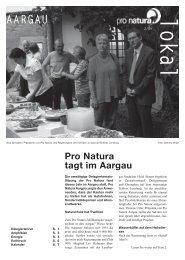 lokal 2 09.indd - Pro Natura Aargau