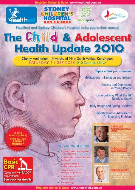 The Child & Adolescent Health Update 2O1O