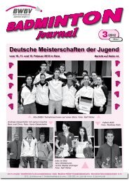 3/2012 - Baden - Württembergischer  Badminton - Verband
