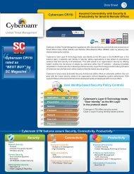 Vendors datasheet - 1stAdvance.com