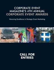 corporate event awards - Exhibitor Magazine