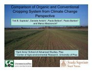 Comparison of Organic and Conventional Cropping System from ...
