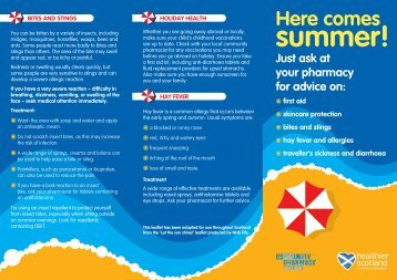summer! - Community Pharmacy