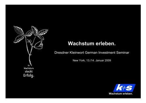 2007 - K+S Aktiengesellschaft