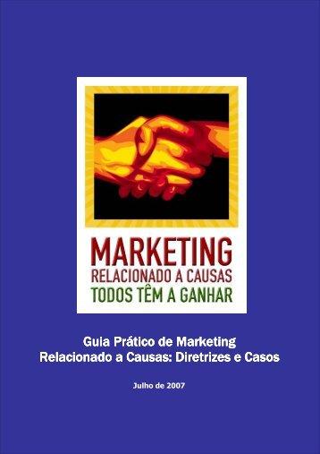 Guia Prático de Marketing Relacionado a Causas: Diretrizes e Casos