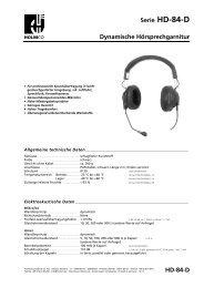 Datenblatt als PDF-Datei - HOLMCO