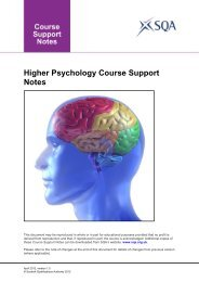 Higher Psychology Course Support Notes - Scottish Qualifications ...