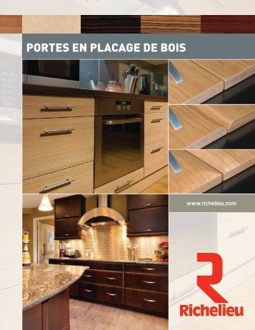 PORTES EN PLACAGE DE BOIS - Richelieu