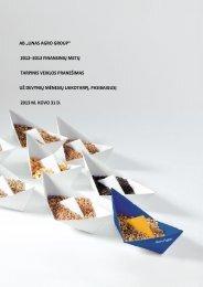 "0 AB ""LINAS AGRO GROUP"" 2012–2013 ... - GlobeNewswire"