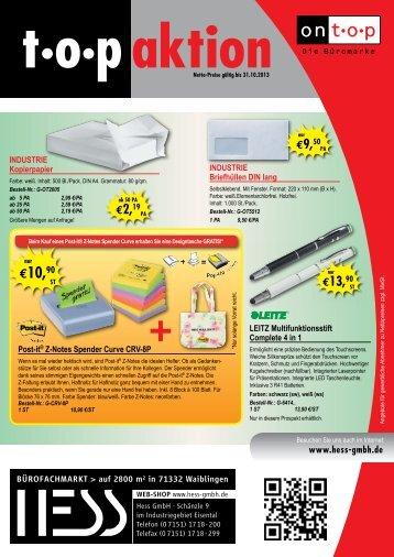 €10,90 - Hess GmbH