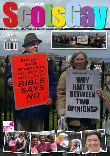 ScotsGay Issue 114 - ScotsGay Magazine