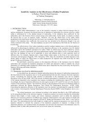 Sensitivity Analysis on the Effectiveness of Iodine Prophylaxis to ...