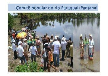 Comitê popular do rio Paraguai