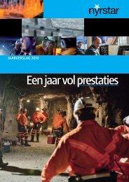 Jaarverslag 2010 11.04.2011 - Nyrstar