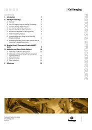 Cell Imaging Protocols and Applications Guide-A4 - Promega